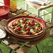 Emile Henry Pizza Stone Size: Large; Color: Burgundy