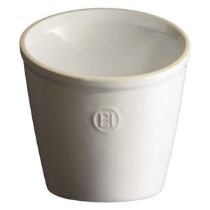 Emile Henry Utensil Pot Color: Flour