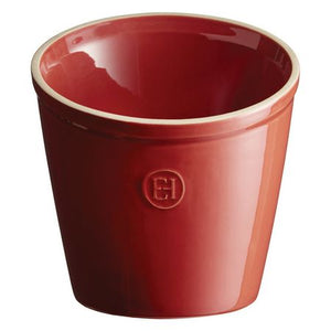 Emile Henry Utensil Pot Color: Burgundy