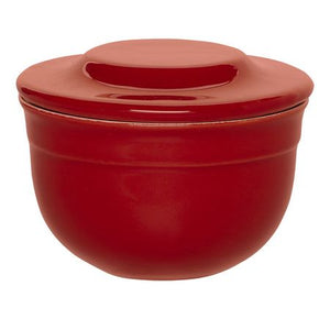 Emile Henry Butter Pot Color: Burgundy