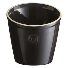 Emile Henry Utensil Pot Color: Charcoal