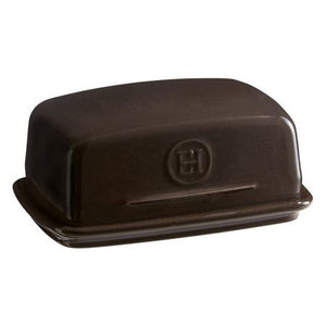 Emile Henry Butter Dish Color: Charcoal