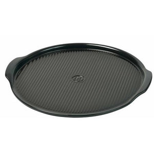 Emile Henry Pizza Stone Size: Large, Color: Charcoal