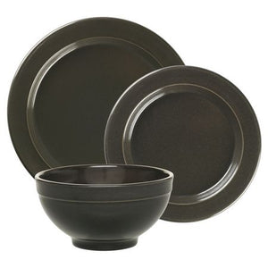 Emile Henry Dinnerware Set Color: Charcoal