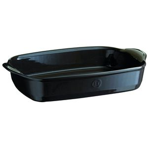 Emile Henry Ultime Rectangular Baking Dish Size: Large Rectangle, Color: Charcoal