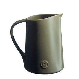 Emile Henry Pitcher Color: Flint