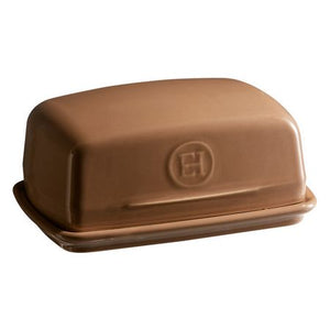 Emile Henry Butter Dish Color: Oak