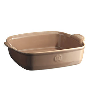 Emile Henry Ultime Rectangular Baking Dish Size: Square, Color: Oak