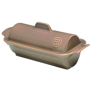 Emile Henry Foie Gras Medallion Terrine Color: Oak