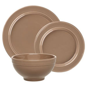 Emile Henry Dinnerware Set Color: Oak