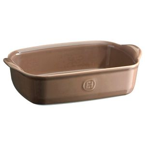 Emile Henry Ultime Rectangular Baking Dish Size: Individual, Color: Oak
