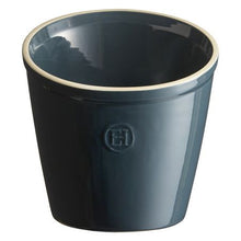 Emile Henry Utensil Pot Color: Blue Flame