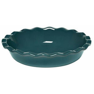 Emile Henry Pie Dish Color: Blue Flame