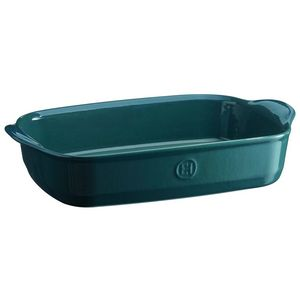 Emile Henry Ultime Rectangular Baking Dish Size: Medium Rectangle, Color: Blue Flame