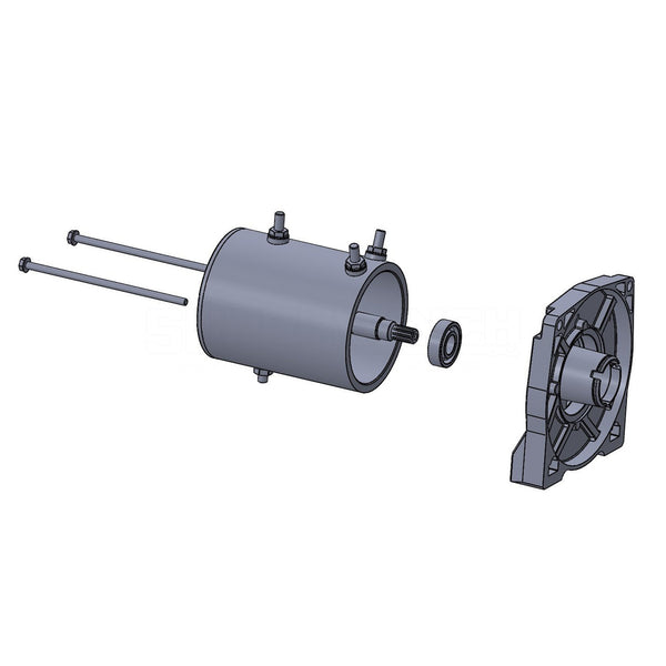 Winch Motor; Replacement; For Tiger Shark 11500 Winch;