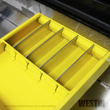 Brute Tool Box Tray; For Brute Tool Boxes; Yellow;