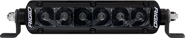 RIGID SR-Series PRO Midnight Edition LED Light, Spot Optic, 6 Inch