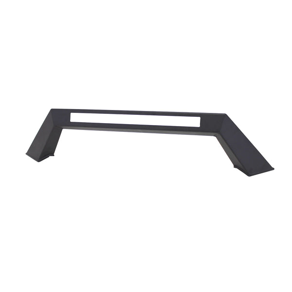HDX Bumper LED Light Bar Mount; Textured Black; For HDX Bumpers;