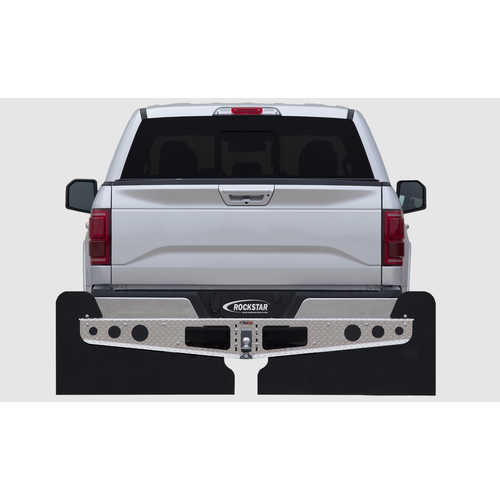 2XL Universal Mud Flaps; Fit Most Full-Size Pickups/SUVs (80in. wide)