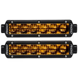 RIGID SR-Series DOT/SAE J583 6 Inch Selective Yellow LED Fog Light, Pair