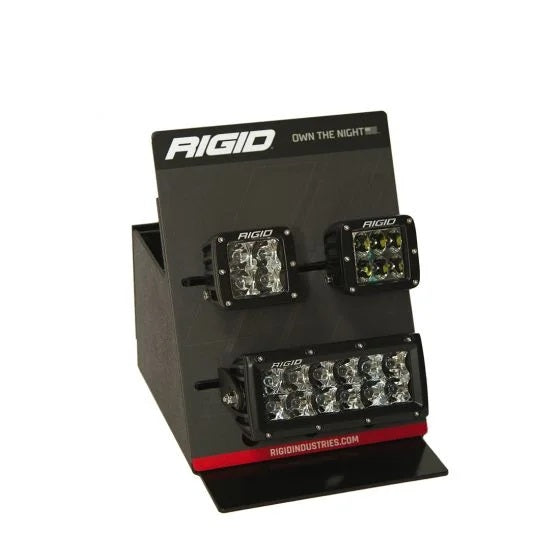 RIGID PRO POP Countertop Display, Includes D-Series, E-Series