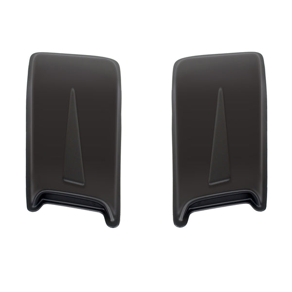 Hood Scoop; Large Racing Accent 2 pc.; 11.5 X 30 X 2;