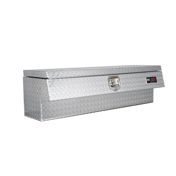 HDX Low Sider Tool Box; Polished Aluminum; L 47 in. x W 15 in. x H 13.5 in.;