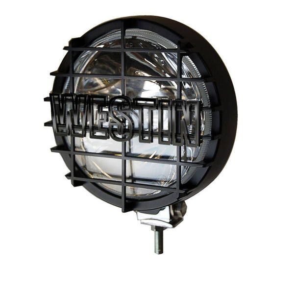 Off-Road Light; 6 in.; w/Grid; Black; 1 Light Only;