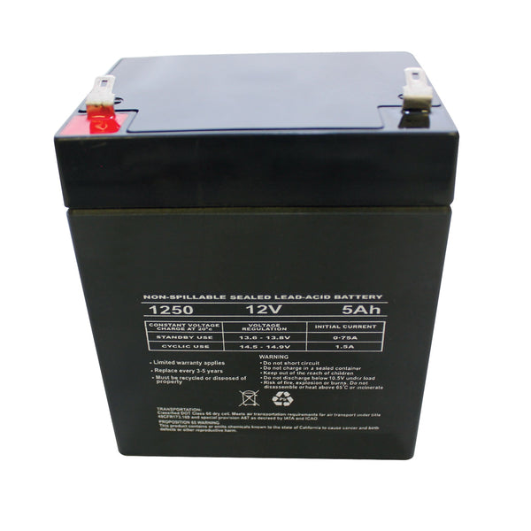 Brake Control; Replacement; 5 AMP Battery;