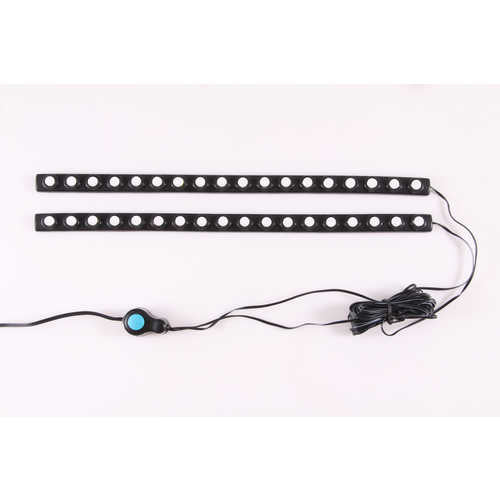 LED Bed Rail Auxiliary Light; 1 Watt; Incl. 2  Lighting Strips/Switch;