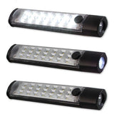 LED Utility Light Bar; Chrome; 60 in.; w/Rechargeable Flash Lights;