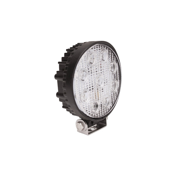 LED Work Light; 4.9 x 5.4 in.; Round; Spot; Incl. Light/Mounting Hardware;