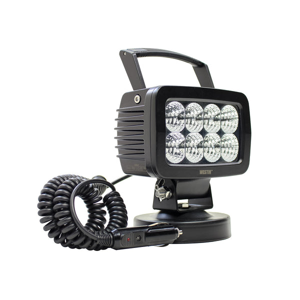 Swivel LED Utility Light; 5.7 x 3.7 in.; Flood;