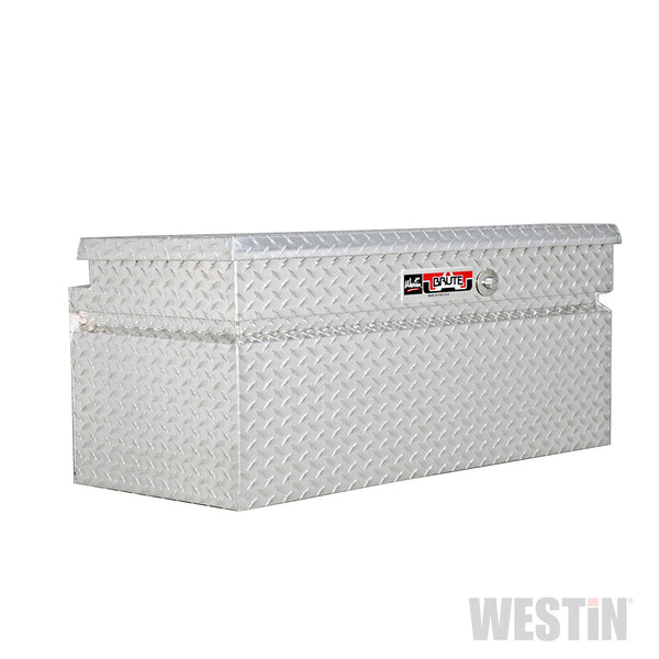 Brute Trailer Tongue Tool Box; Polished Aluminum; Aluminum; 49 in.;