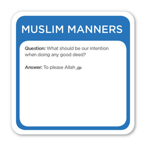 5Pillars Trivia Burst: Muslim Manners (English Version)