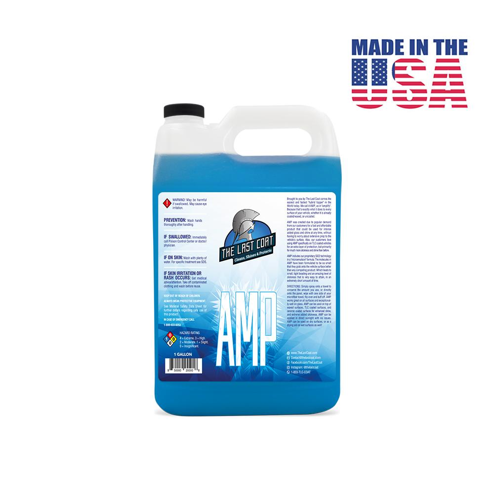 The Last Coat coupon: AMP - High Gloss & Slickness Hybrid Topper, Gallon - Save 40% (Best Value!)