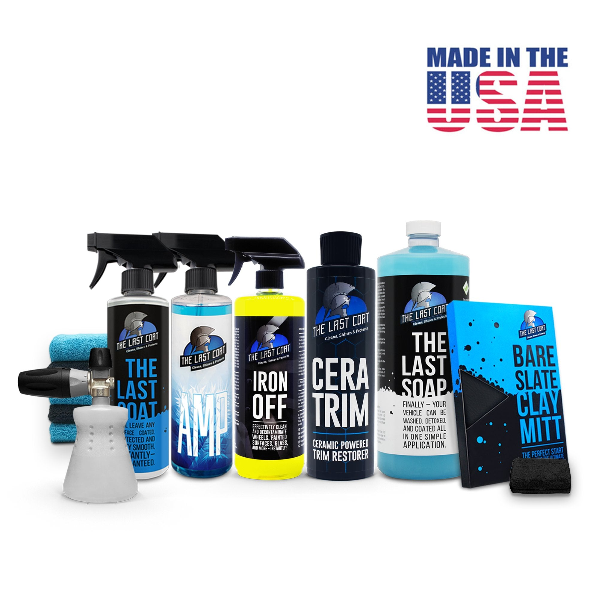 The Last Coat coupon: The Full Prep Bundle, The Full Prep Bundle with PF22.2 Foam Cannon