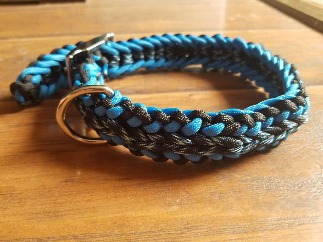 Adjustable Handmade Paracord Dog Collar