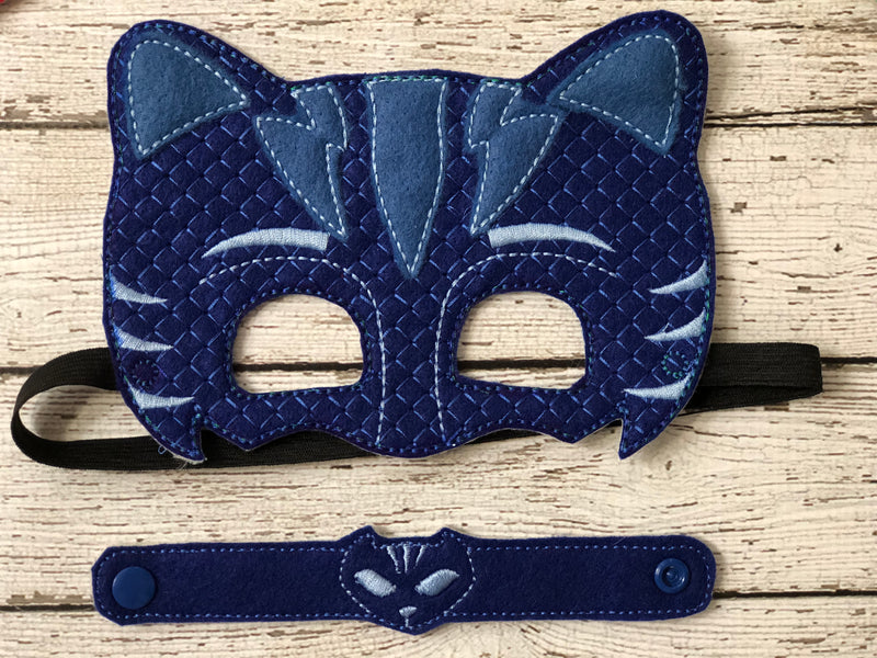 PJ Masks Inspired Felt Masks - 805 Masks