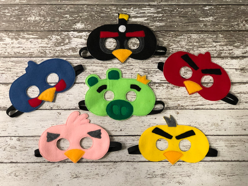 Birds Felt Masks - 805 Masks