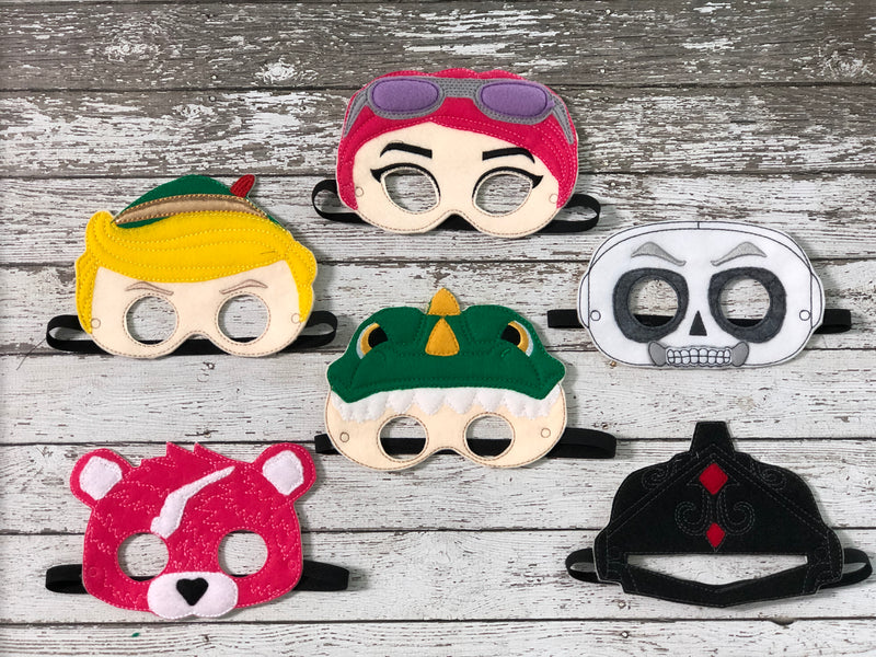 Fortnite Inspired Felt Masks - 805-masks