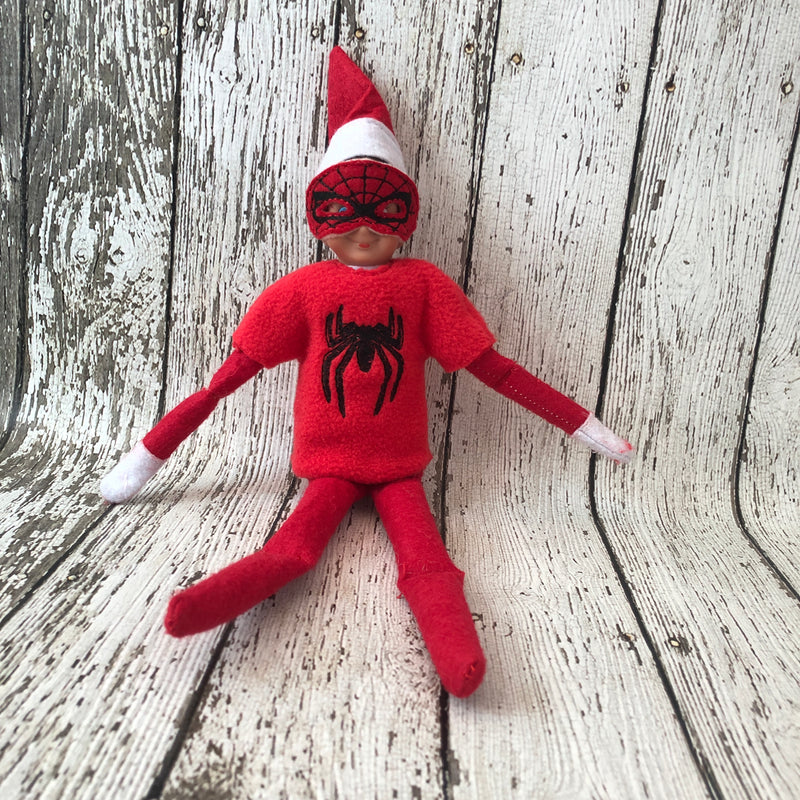 Elf Spider Man Sweater and Mask - 805 Masks