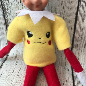 Elf Pokemon Sweater - 805-masks