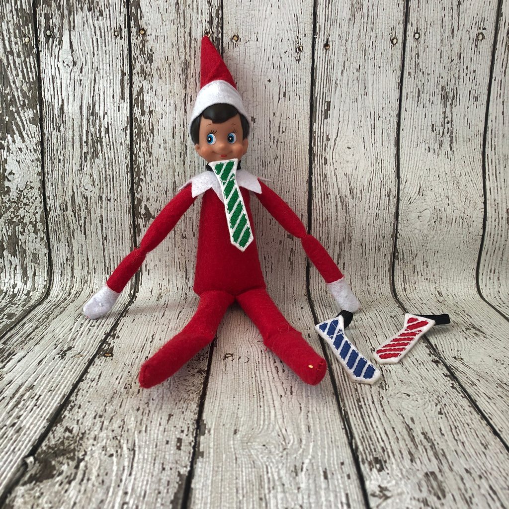 Elf on the Shelf Neck Tie - 805-masks