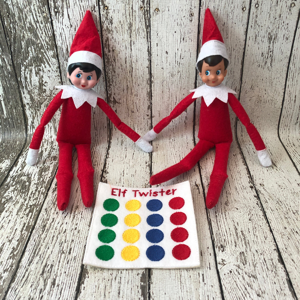 Elf on the Shelf Twister Game Prop - 805-masks