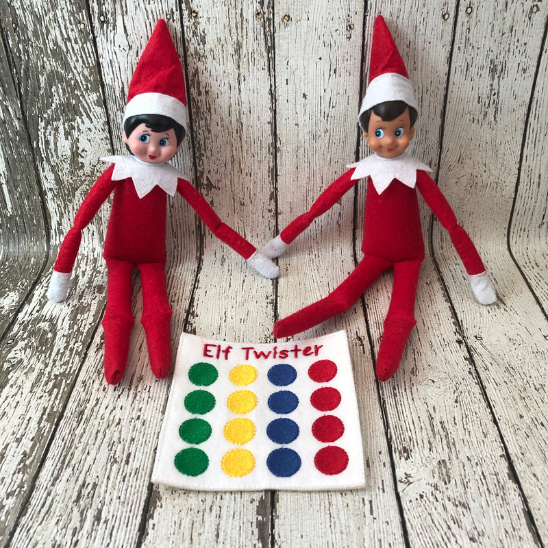 Elf on the Shelf Twister Game Prop - 805 Masks