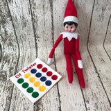 Elf on the Shelf Twister Game Prop