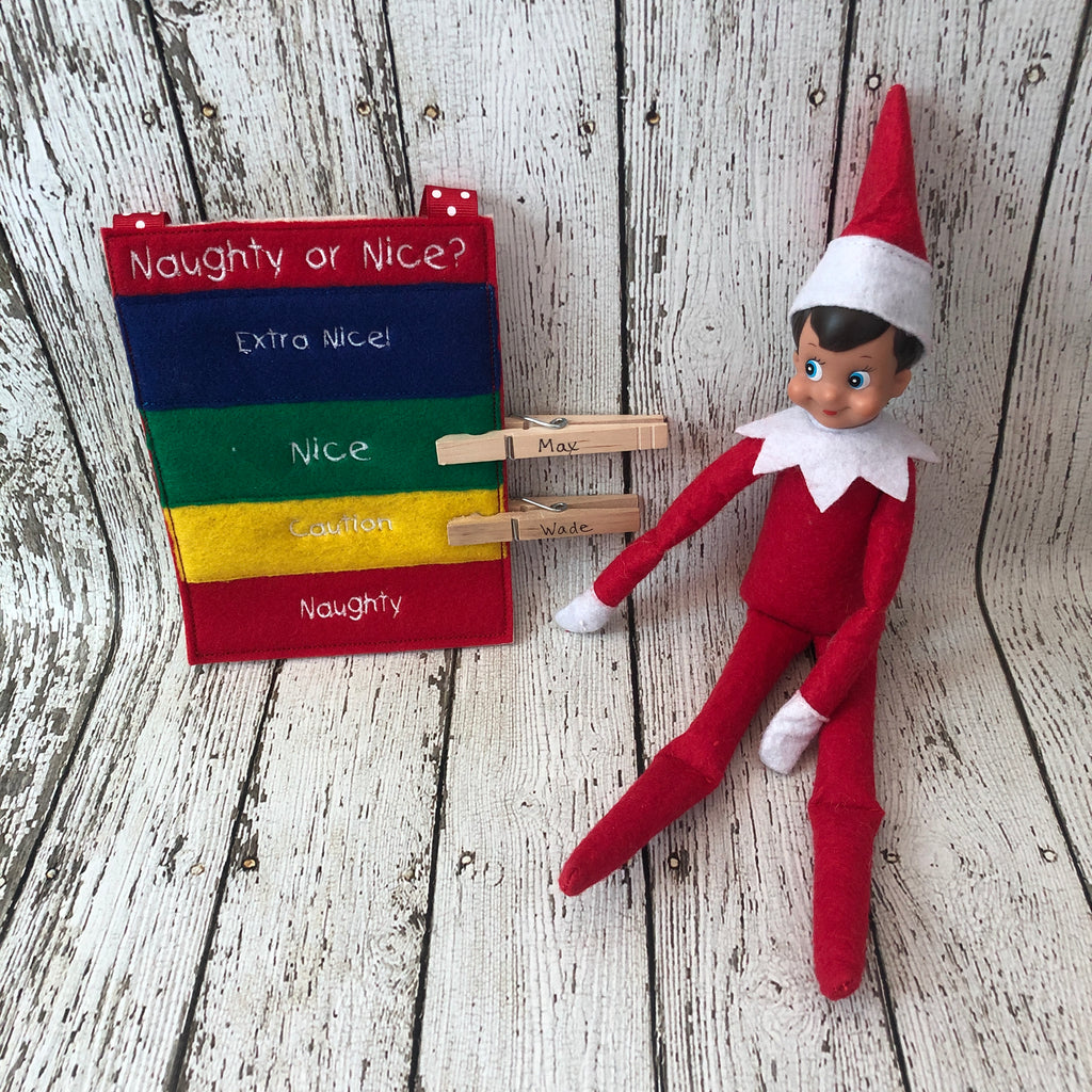 Elf on the Shelf Naughty or Nice Prop - 805-masks