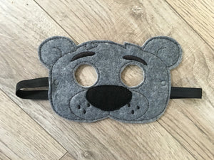Jungle Book Inspired Felt Masks - 805 Masks