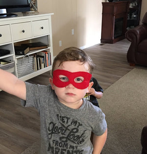 Super Hero Felt Masks - 805 Masks